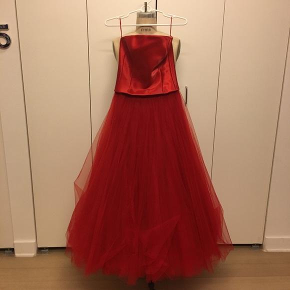 Ralph Lauren Dresses | Collection Red Evening Gown | Poshmark